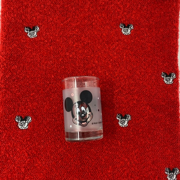 Disney Minnie knit 🧶 neck gaiter free Shot glass